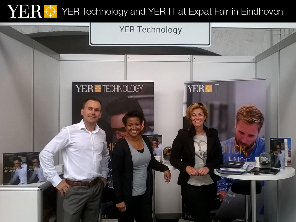 YER Technology and YER IT at Expat Fair in Eindhoven