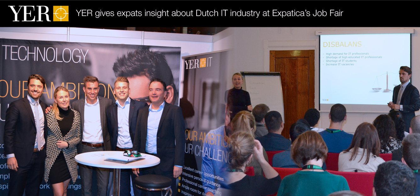 YER gives expats insight about Dutch IT industry at Expatica's Job Fair