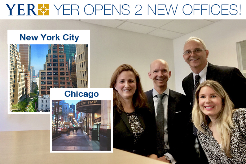 YER USA opens two new offices in New York City and Chicago