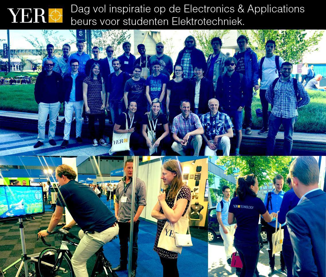 Dag vol inspiratie op de Electronics & Applications beurs