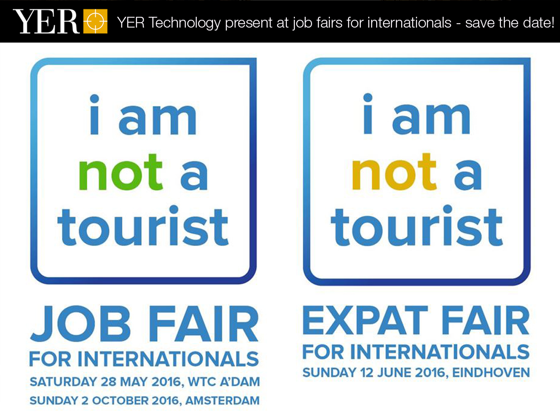 YER Technology present at job fairs for internationals – save the date!